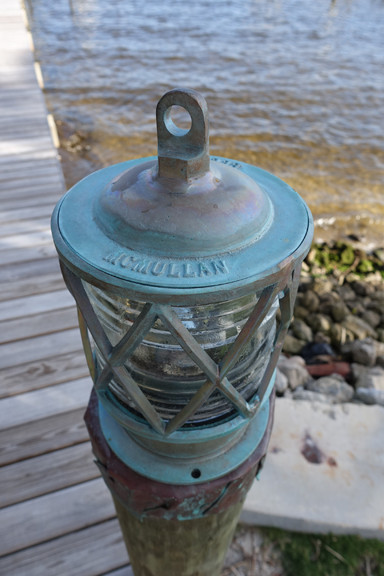 European piling dock light