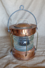 "Copper ""Meterite"" Anchor light"