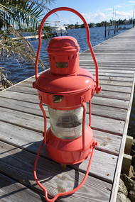 coral hanging anchor light