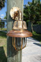Copper Vane Nautical Sconce