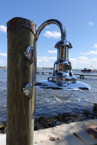 Chrome nautical fisher light