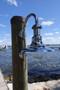 Chrome nautical sconce light