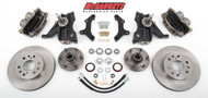 "Chevrolet C-10 1963-1970 13"" Front Disc Brake Kit & 2.5"" Drop Spindles; 6x5.5 Bolt Pattern - McGaughys Part# 63310"