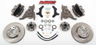 "Chevrolet Camaro 1970-1978 13"" Front Disc Brake Kit & 2"" Drop Spindles; 5x4.75 Bolt Pattern - McGaughys Part# 64077"