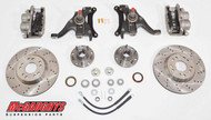"GMC S-15 Sonoma 1982-2003 13"" Front Cross Drilled Disc Brake Kit; 5x4.75 Bolt Pattern - McGaughys Part# 93125"