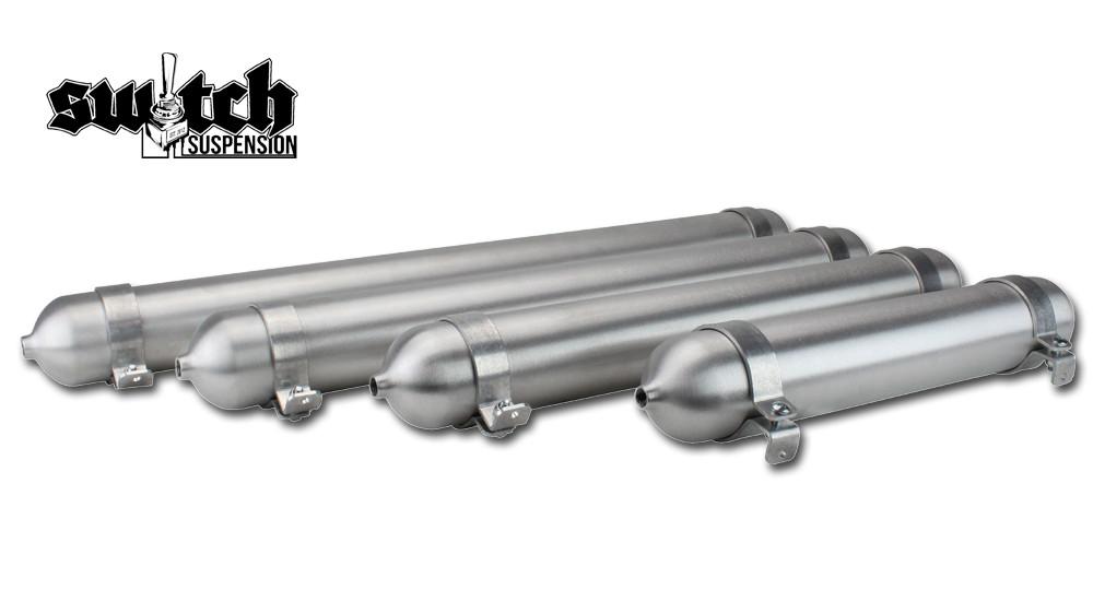 "Specialty Suspension 24/"" Seamless Aluminum Air Tank 5 Inch Diameter USA Made"