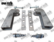 Front Shock Relocator Brackets for Loop / Loop Shocks