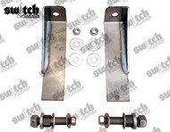 Front Shock Relocator Brackets for Stem/Loop Shocks