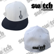 Switch Suspension Silver/Black Classic Fitted Flex Fit Hat - Youth