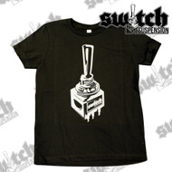 Childrens Switch Suspension Black / Gray Short Sleeve T-Shirt - Kids