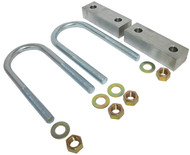 "GM C-10 1960-1972 (coil spring) Rear 1"" Drop Lowering Block Kit W/U-Bolts"
