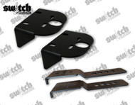 Air Over Leaf Air Bag Brackets Upper and Lower Set W/ Hardware