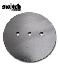 Lower Air Bag Circle Plate 6""