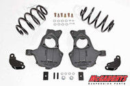 Cadillac Escalade 2wd 2015-2019 2/3 Deluxe Drop Kit - McGaughys Part#34213/34214