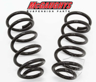 "Chevrolet Silverado 1500 Extended Cab 2007-2018 Front 1"" Drop Coil Springs - McGaughys Part# 34039"