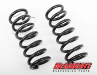 """GMC Sierra 1500 Extended Cab 1999-2006 Front 1"""" Drop Coil Springs - McGaughys Part# 33009"""