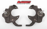 "Chevrolet Camaro 1967-1969 Front 2"" Drop Spindles - McGaughys Part# 6769"
