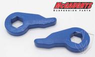 """Chevrolet Silverado 1500 1999-2006 Front 1""""-2"""" Drop Torsion Keys - McGaughys Part# 33005"""