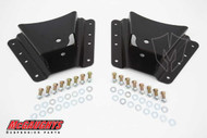 "Chevrolet Silverado 2500/3500HD (10 Hole Hanger) 2002-2010 Rear 2""-3"" Drop Hangers - McGaughys Part# 33085"