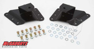 "Chevrolet Silverado 2500/3500HD (8 Hole Hanger) 2002-2010 Rear 2""-3"" Drop Hangers - McGaughys Part# 33086"