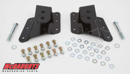 "Chevrolet Silverado 1500/2500HD (6 Hole Hanger) 2002-2010 Rear 1""-2"" Drop Hangers - McGaughys Part# 33087"