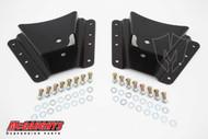 "GMC Sierra 2500/3500HD (10 Hole Hanger) 2002-2010 Rear 2""-3"" Drop Hangers - McGaughys Part# 33085"