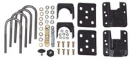 "Chevrolet Silverado 1500 2wd, Crew Cab 2004-2006 4-5"" Rear Drop Kit - McGaughys Part# 93047"