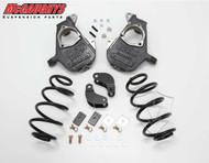 Chevrolet Suburban LD Shocks 2007-2014 2/3 Deluxe Drop Kit - McGaughys Part# 30008