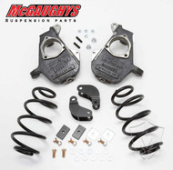 GMC Denali XL HD Shocks 2001-2006 2/3 Deluxe Drop Kit - McGaughys Part# 33047