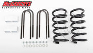 Chevrolet S-10 Extended Cab 1982-2003 2/3 Economy Drop Kit - McGaughys Part# 33107