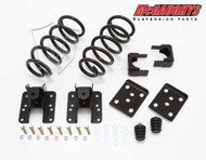 Chevrolet Silverado 1500 Quad Cab 2007-2013 2/4 Economy Drop Kit - McGaughys Part# 34001