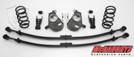 Chevrolet Silverado 1500 Quad Cab 2007-2013 3/5 Deluxe Drop Kit - McGaughys Part# 34002