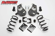 GMC Sierra 1500 Quad Cab 2007-2013 4/7 Deluxe Drop Kit - McGaughys Part# 34004