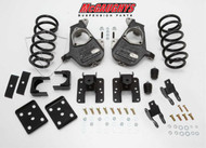 Chevrolet Silverado 1500 Quad Cab 2007-2013 4/6 Deluxe Drop Kit - McGaughys Part# 34015
