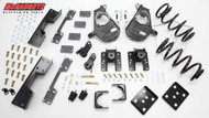 Chevrolet Silverado 1500 Standard Cab 2007-2013 3/5 Deluxe Drop Kit - McGaughys Part# 34027