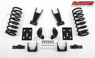 Dodge Ram 1500 Quad Cab 2002-2005 2/4.5 Economy Drop Kit - McGaughys Part# 44004