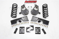 Chevrolet Silverado 1500 Standard Cab 1999-2006 4/6 Deluxe Drop Kit - McGaughys Part# 93016/93018/93020/93022