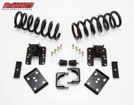 GMC Sierra 1500 2wd Crew Cab 2004-2006 2/4 Economy Drop Kit - McGaughys Part# 93046