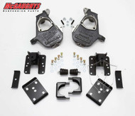 GMC Sierra 1500 2wd/4wd Crew Cab 2004-2006 2/4 Deluxe Drop Kit - McGaughys Part# 93048