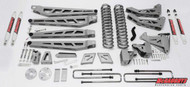 "Ford F350 4wd 2011-2016 6"" Lift Kit W/Shocks Phase III"