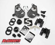 Chevrolet Silverado 1500 2014-2018 3/5 - 4/6 Deluxe Drop Kit - McGaughys Part# 34160 / 34260