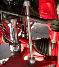 "GM Silverado & Sierra 2500HD / 3500HD 2011-2019 7-9"" Lift Kit Sway Bar End Link Upgrade - McGaughys 52360"