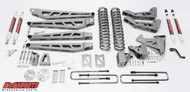 """Ford F350 4wd 2005-2007 6"""" Lift Kit W/Shocks Phase III - McGaughys Part# 57333"""