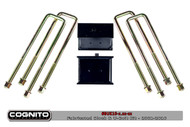 GM 1500HD/2500HD 2001-2010 Cognito Block & U Bolt Kit