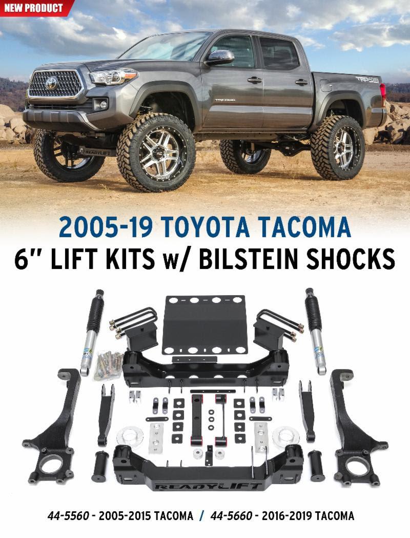 Toyota Tacoma 2016-2019 2wd / 4wd 6