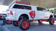 "Dodge Ram 2500 4wd 2014-2018 10"" Premium McGaughys Radius Arm Lift Kit"