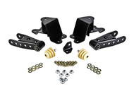 "Chevrolet C1500 Silverado 1988-1998 Std Cab Belltech 4"" Rear Shackle and Hanger Kit"