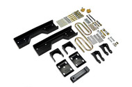 "Chevrolet C1500 Silverado 1988-1998 Ext Cab Short Bed Belltech 6"" Rear Shackle and Hanger Kit"