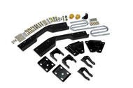 "Chevrolet Suburban C2500 1992-1994 2wd Belltech Rear 7"" Drop Axle Flip Kit"