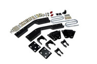 "GMC Suburban C1500 1995-1999 2wd Belltech Rear 7"" Drop Axle Flip Kit"